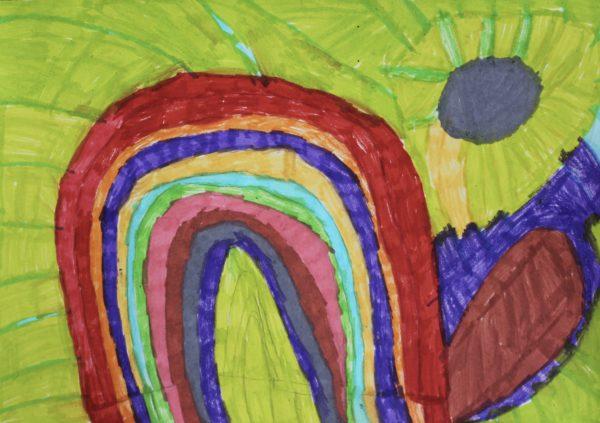 Rainbow by Lizzies Art