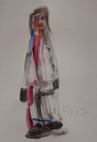 My Mum by Lizzies Art