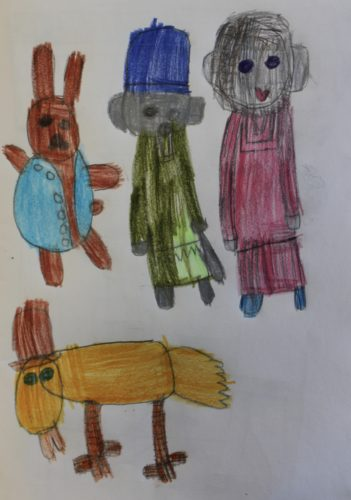 Peter Rabbit and friends by Lizzies Art