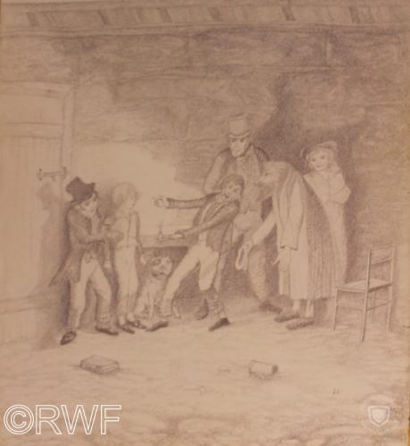 ` Consider Yourself At Home` – Oliver Twist meets Fagin by The Green Man