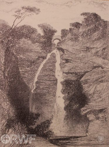 Corriemulzie Waterfall, Aberdeenshire, Scotland by Nude by a Waterheater