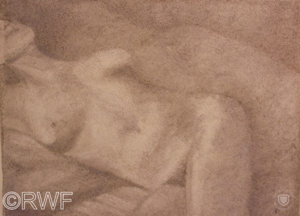 Soft Focus Nude by Abstract featuring Blue