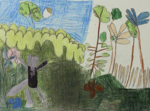 Max in the garden 2 by Hannah McKenzie