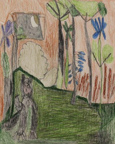 Max in the Garden by Hannah McKenzie