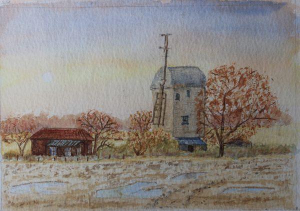 Windmill by Ian Huggett