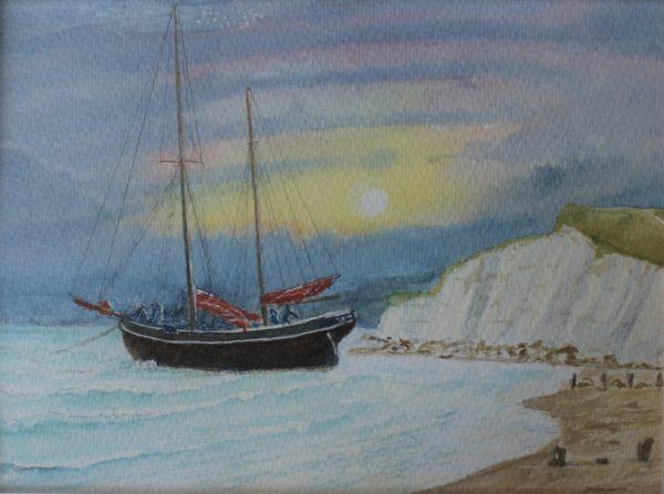 Smugglers by Ian Huggett