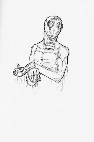 Gas Mask by Joe Mcgwynn
