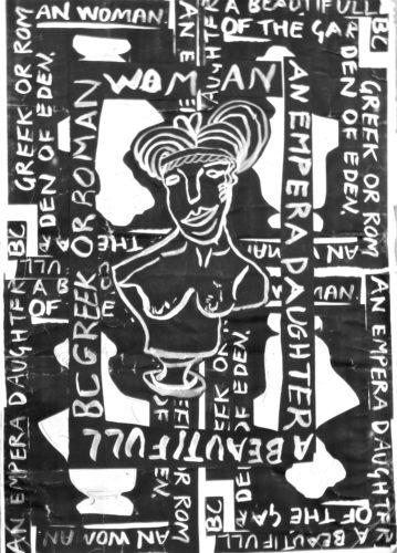 Greek woman by Robin Meader