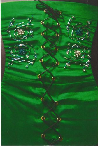 Emerald Corset by Gemma Taylor