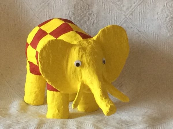Ellie the elephant by Jan