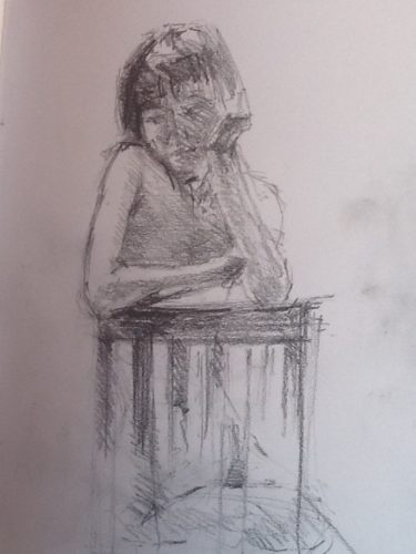 Life drawing by Life drawing