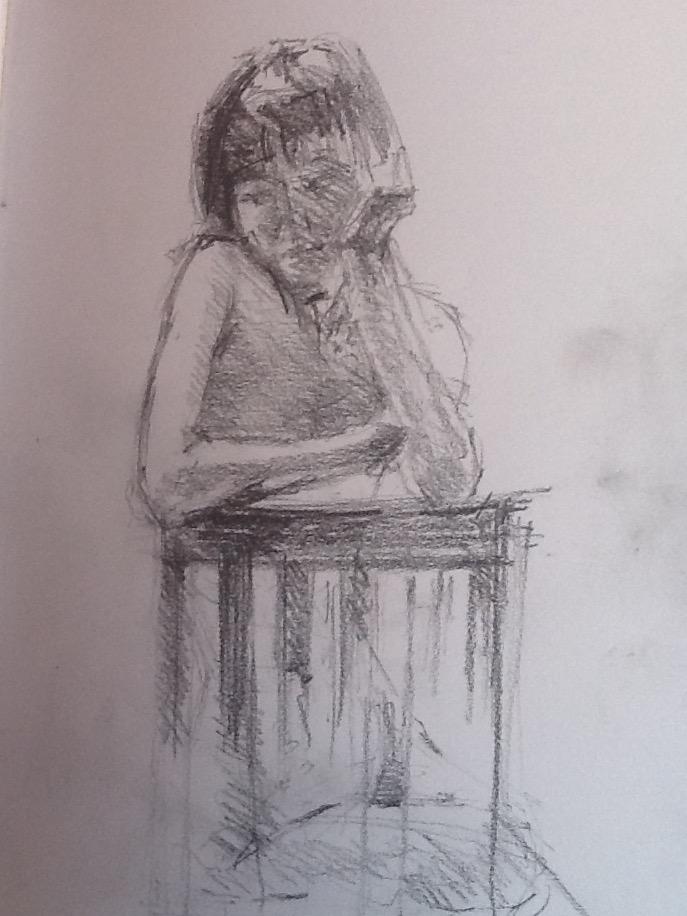 43768 || 6049 || Life drawing