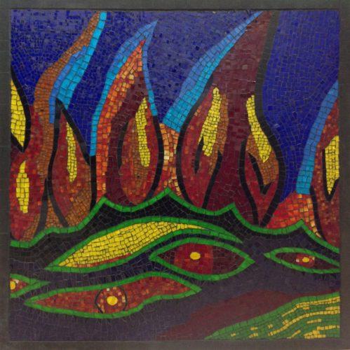 Flames by Jo Bedford