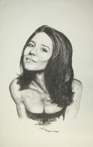 Diana Rigg by Anthony Hill