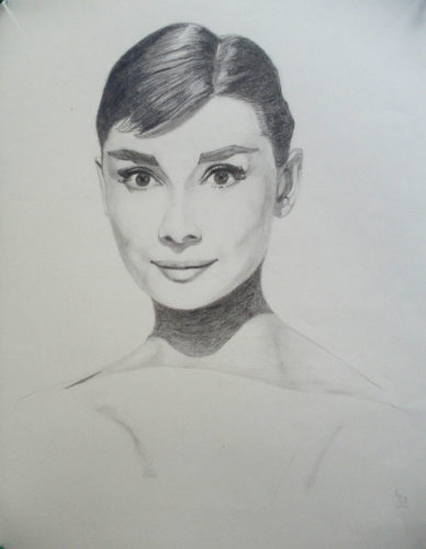 Audrey by Anthony Hill