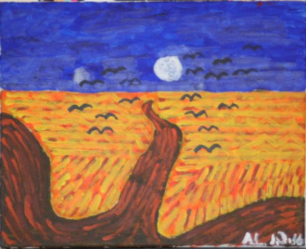 Landscape 01 by Alan Lesslie