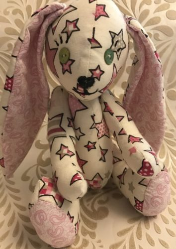 Pinky stars rabbit by JULIA CALLAM