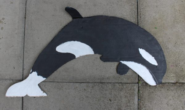 Whale by Emma Leslie