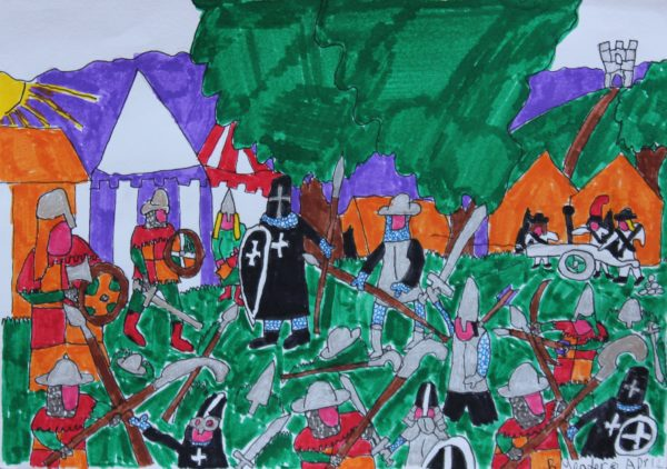 Glastonbury Knights by Robin Meader