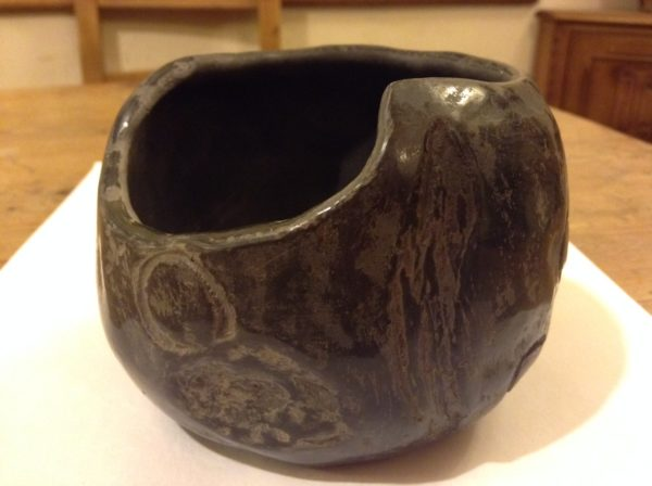 Pit Fired Pot by cornishartist