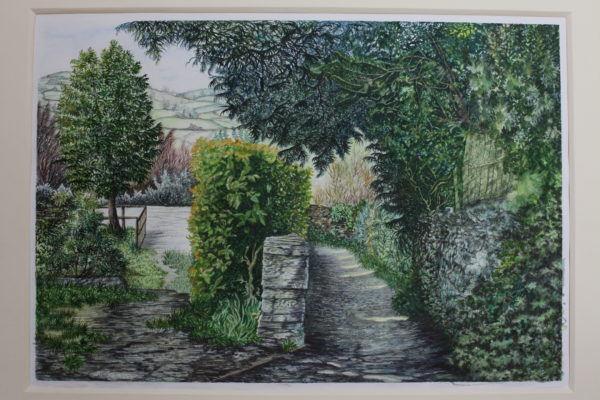 A Pathway in Troutbeck by Carole Murray