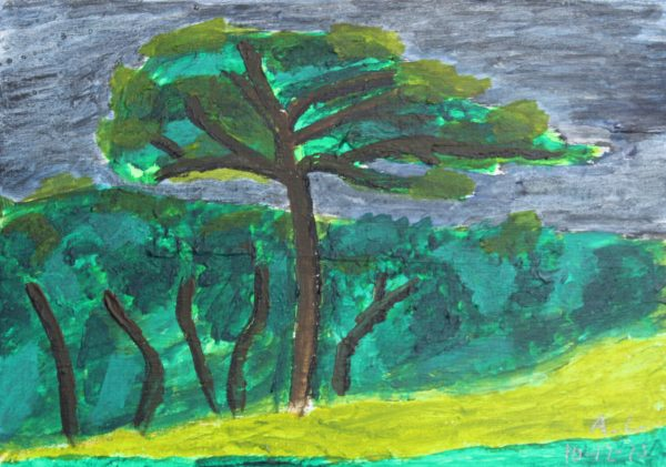 The Great Pine by Alan Lesslie