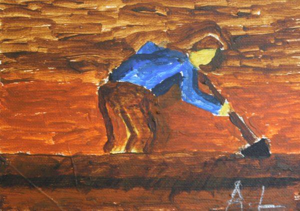 Inspired by Van Gogh by Alan Lesslie