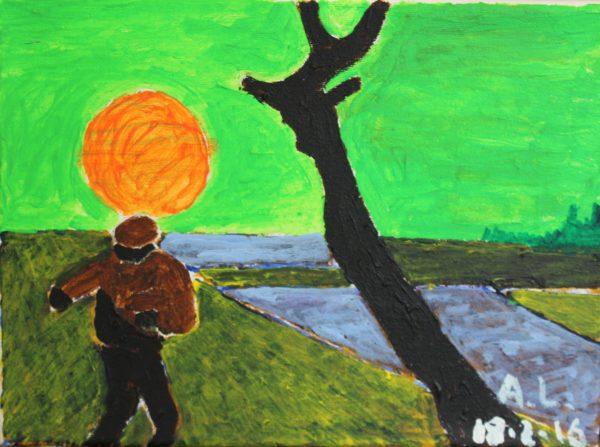 Inspired by Van Gogh 2 by Alan Lesslie