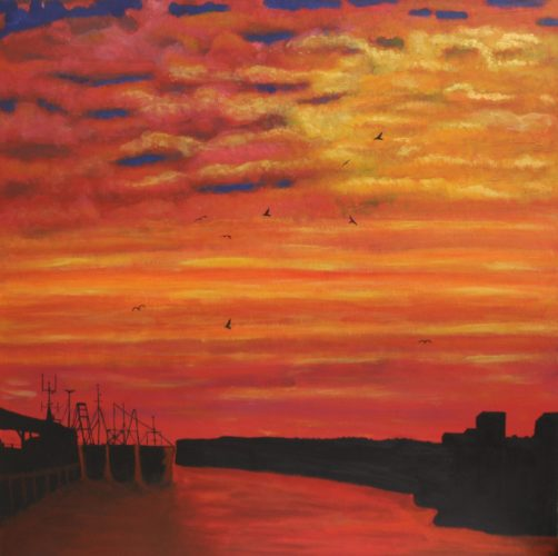North Shields at Dawn by Woodie