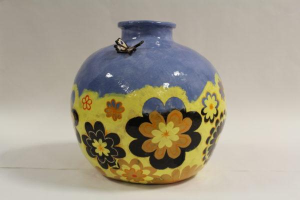 Summer Meadows Vase by Nadia Halliday
