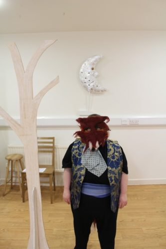 Jane as the Fox by Garvald Puppetry