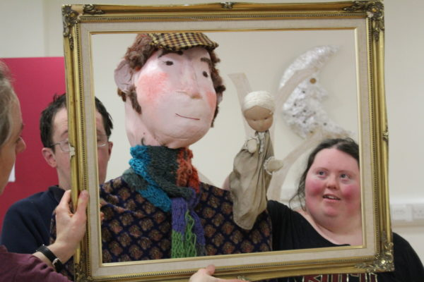 Farmer and Farmers Wife by Garvald Puppetry
