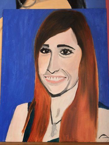 Jaclyn Glenn by Moina