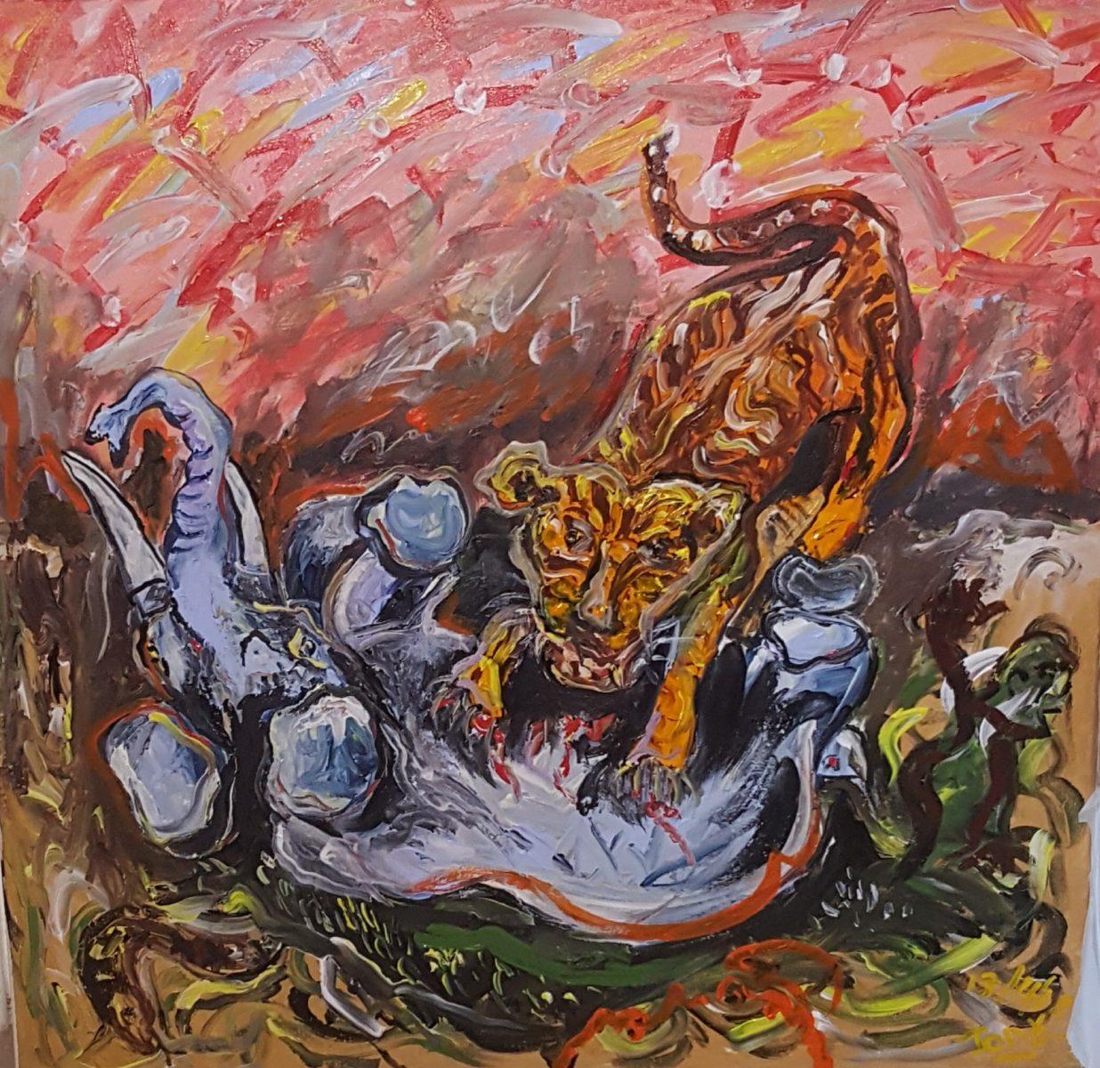 45339 || 4414 || Tiger tiger elephants plight