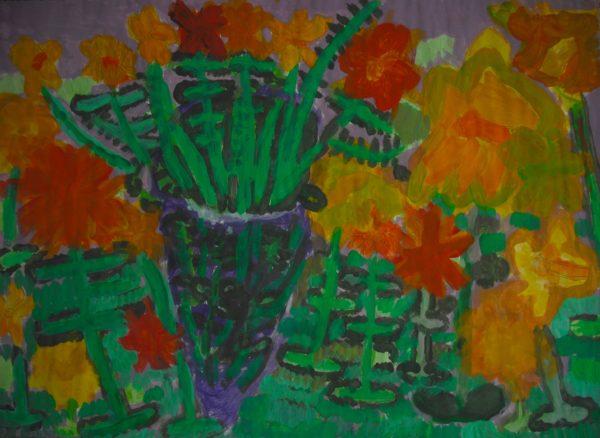 Spring Flowers by Julie Hurman