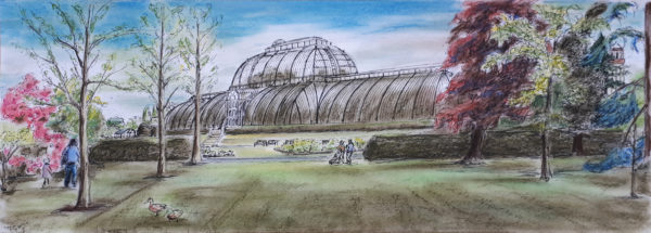The Palm House by Conservatory