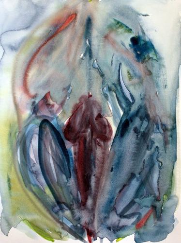 Metamorphosis of Lingam by Laura Laube-Kurovska