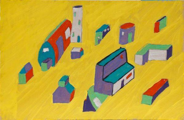 The Yellow Village by Matthew