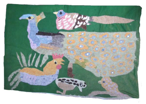 Birds Rug by Maureen Chapman