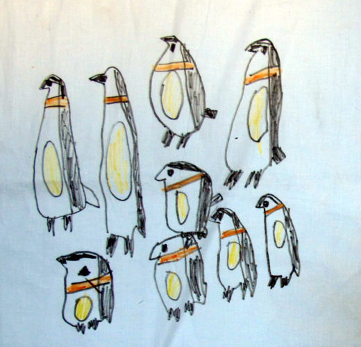 Penguins 2 by Maureen Chapman