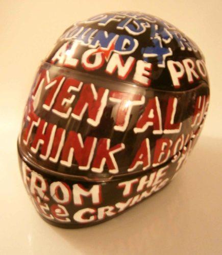 My Mental Helmet by Vince Laws