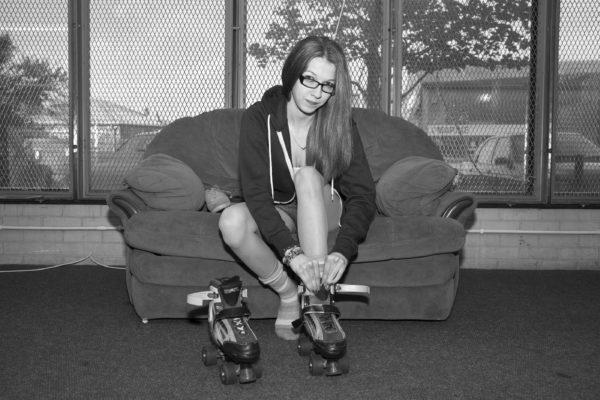 Reclaimed Roller Rink by Frankie Goldstone