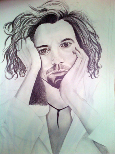 Michael Hutchence by Bob Marley