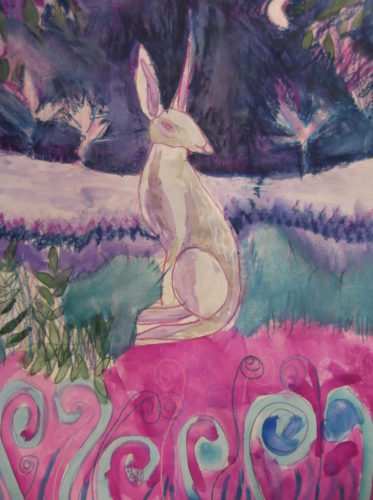 Spring Hare by Michael Paddington