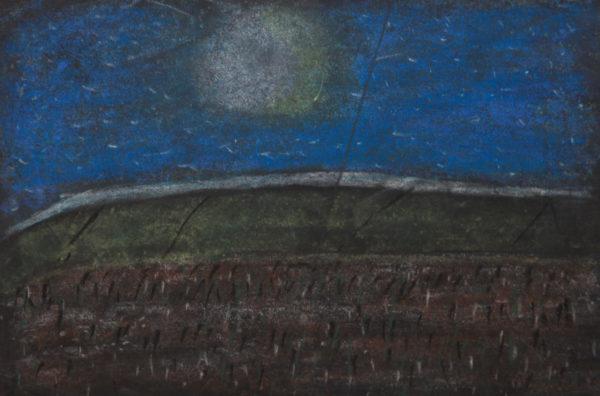 Moonlit Landscape by Lawrence
