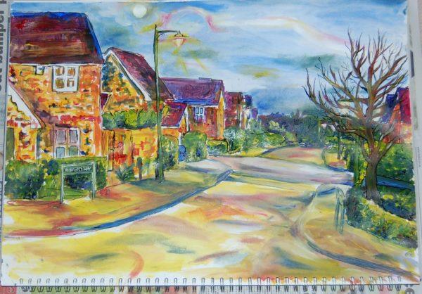 My Street by Anna Wieczerzak