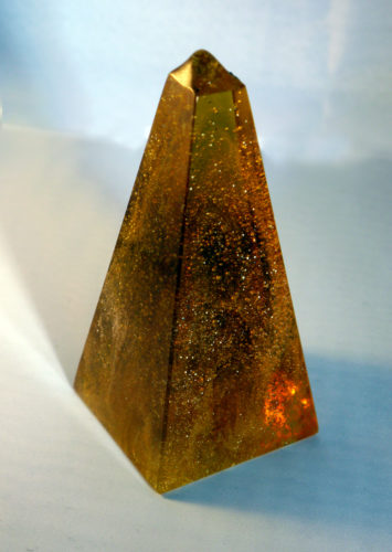 Orange Pyramid by DEC