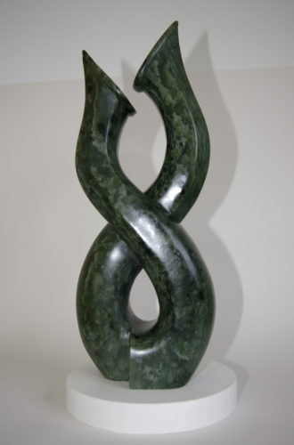 Study in Soapstone. Image 2/2. by Marc Firmager