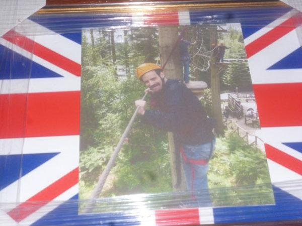 Mr D Arundel Union Jack by Daniel Arundel