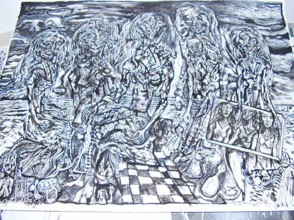 Chess Players by Paul kopal